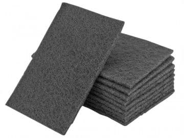 Hand Pads Grey Ultra Fine 230 x 150mm (Pack 10)